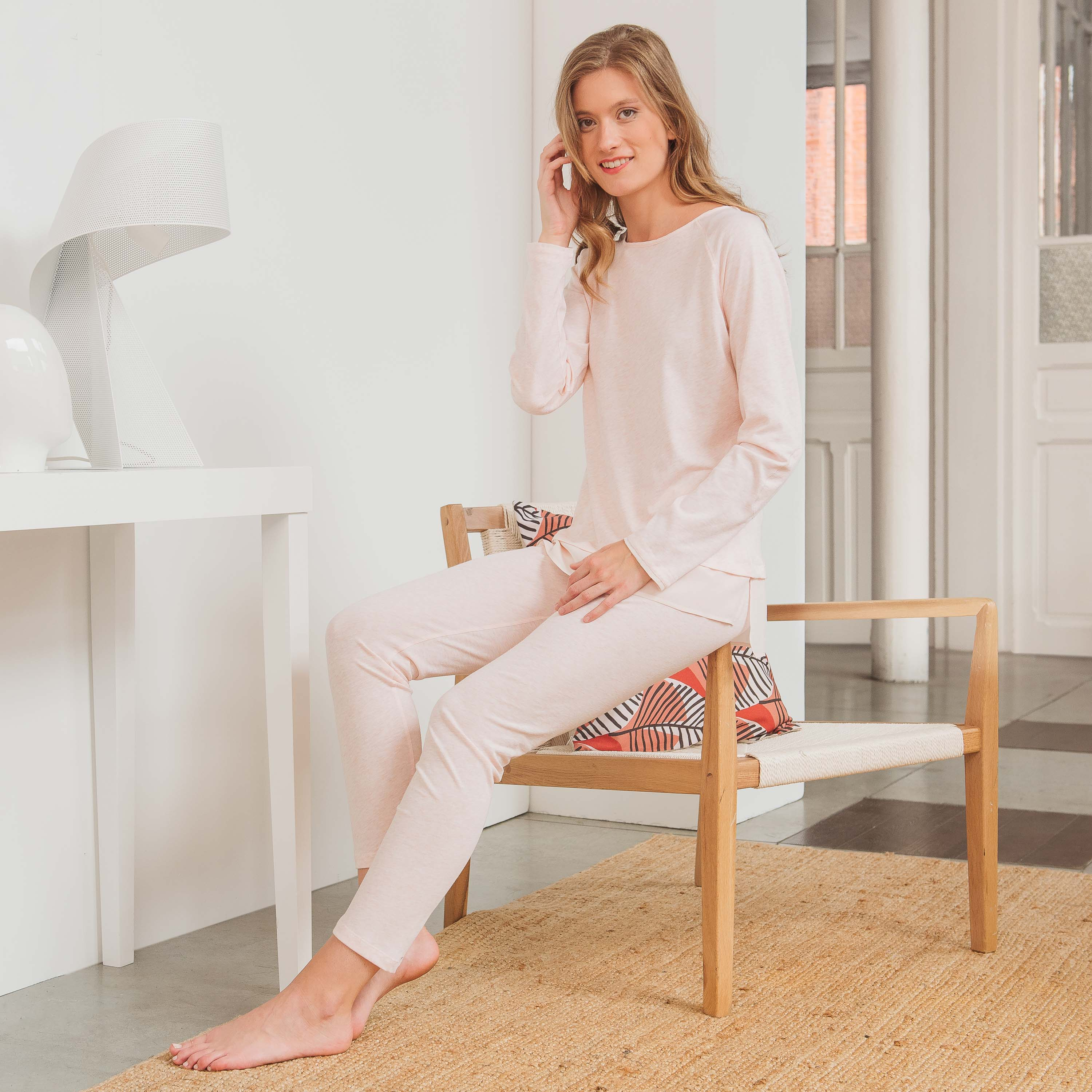 a150b0a348762 Pyjama Karyn nude Mix and Match · Blanc Cerise